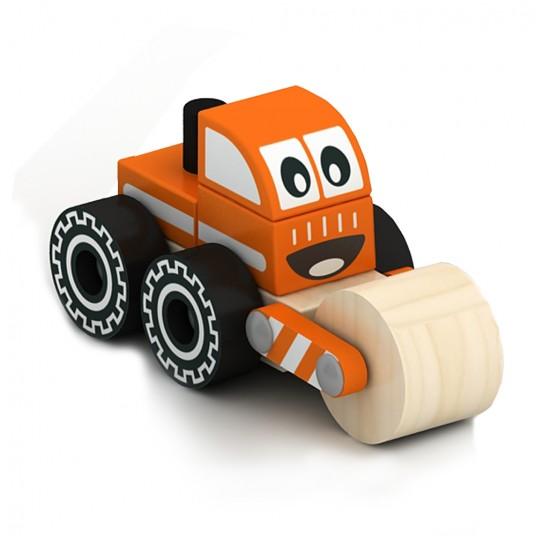 Дървена играчка за сглобяване - валяк