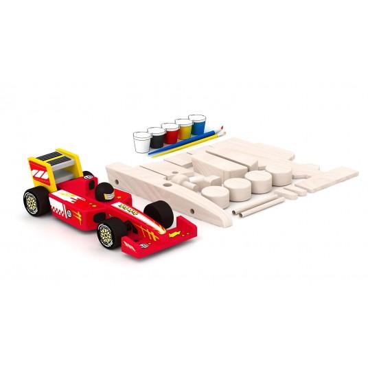 Направи си сам дървен състезателен автомобил – формула