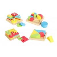 Четири дървени игри