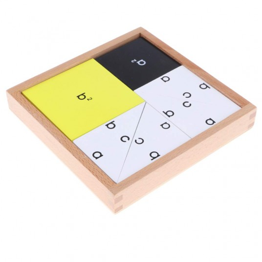 Кутия с математическа формула – Квадратно уравнение