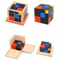 Триномен куб на Монтесори