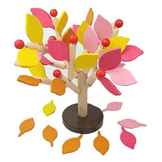 Дърво за сглобяване с есенни листа