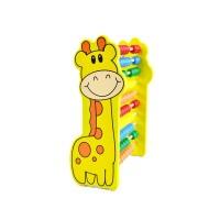 Шарено математическо сметало с жираф