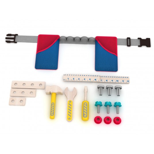 Детски колан с инструменти – 17 части