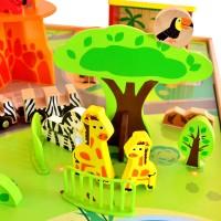 Маса за игра - зоологическа градина