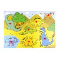 Пъзел с динозаври