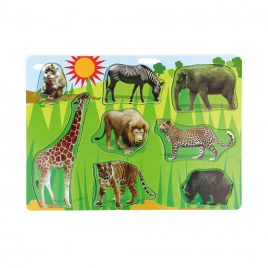 Пъзел с диви животни