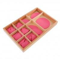 Розови кръгове на Монтесори