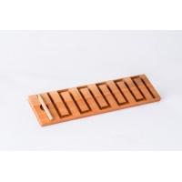 Тактилна дървена плоча за писане 2