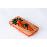 Морков с мъниста и лабиринт за графомоторика