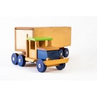 Голям дървен детски камион - Тир