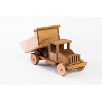 Дървен детски камион