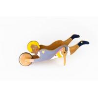"""Дървена детска ръчна количка """"Малкия принц"""""""