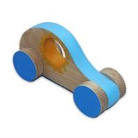 Дървена детска количка