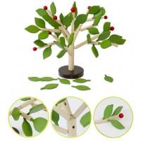 Дърво за сглобяване с пролетни листа