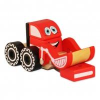 Дървена играчка за сглобяване – багер