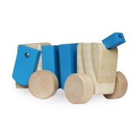 Дървена играчка - куче