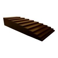 Кафява стълба на Монтесори (1-10см)
