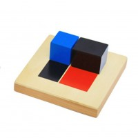 Биномен куб на Монтесори