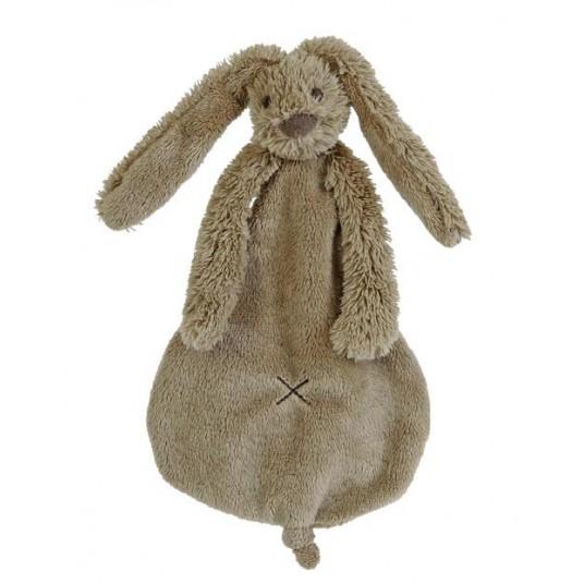 Мека играчка зайчето Richie - кафяво (25см)