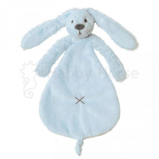 Мека играчка зайчето Richie - синьо (25см)