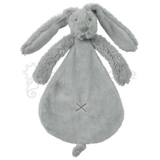 Мека играчка зайчето Richie - светло сиво (25см)