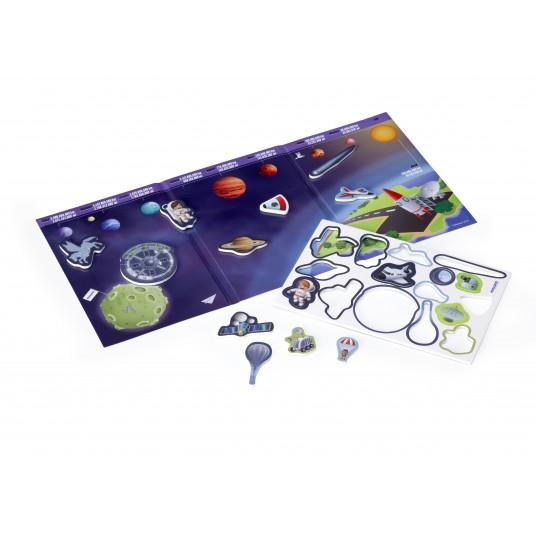 Магнитни игри - Космическо пътуване