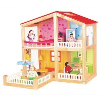 Дървена къща-вила,Лятно настроение