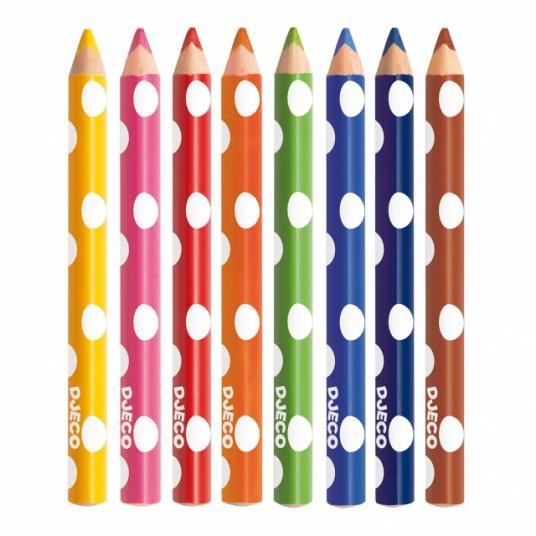 Моливи за оцветяване на най-малките