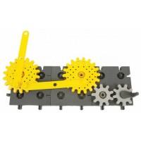 Конструктор със зъбни колела - KORBO 122 елемента