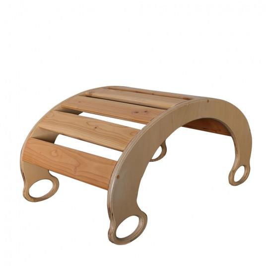 Дървена люлка-катерушка