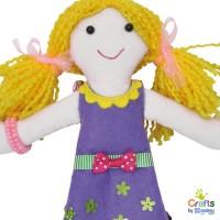 Направи сама парцалена кукла