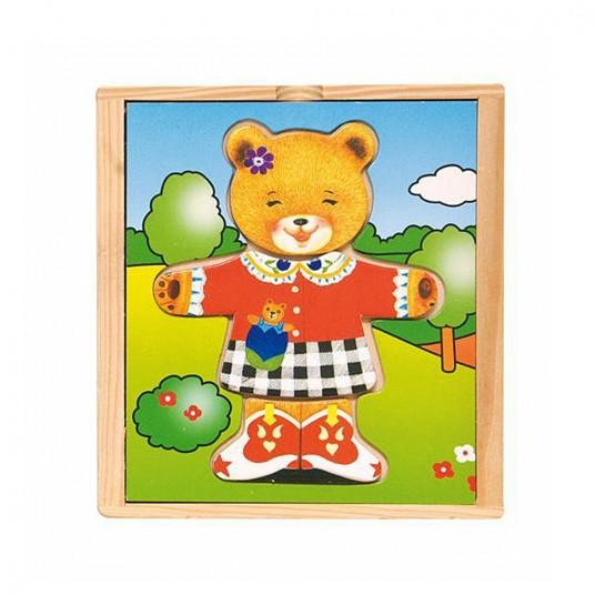 Мама мечка с дреха