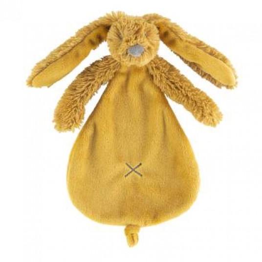 Мека играчка Зайчето Richie - охра - 25см