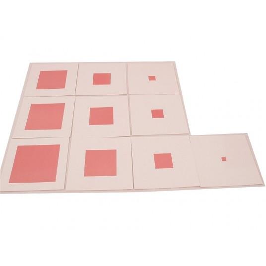 Розова кула на Монтесори – карти