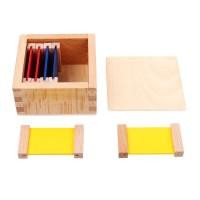 Цветни плочки на Монтесори (малък комплект)