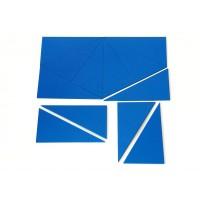 Монтесори сини конструктивни триъгълници