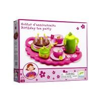 Детски дървен чаен сервиз - 27 части