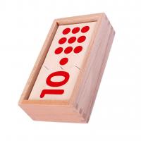 Монтесори пъзел – цифри и точки