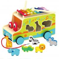 Музикален дървен автобус
